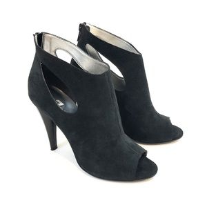 7 For All Mankind Neely Cutout Suede Bootie